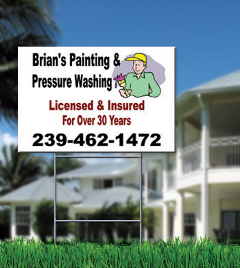 Yard Signs Priority Sign Cape Coral
